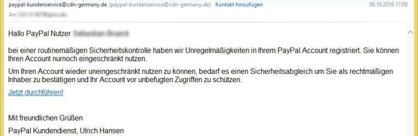 paypal kundenservice deutschland
