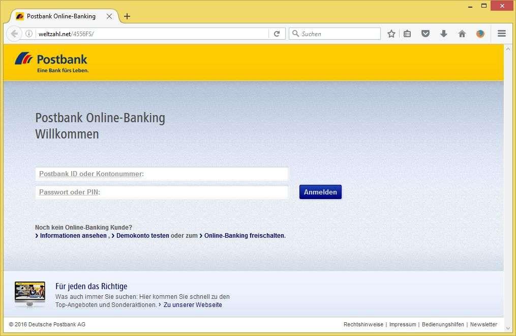 Banking postbank de sperre aufheben