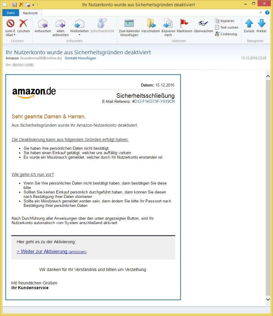 Amazon Kontakt Email