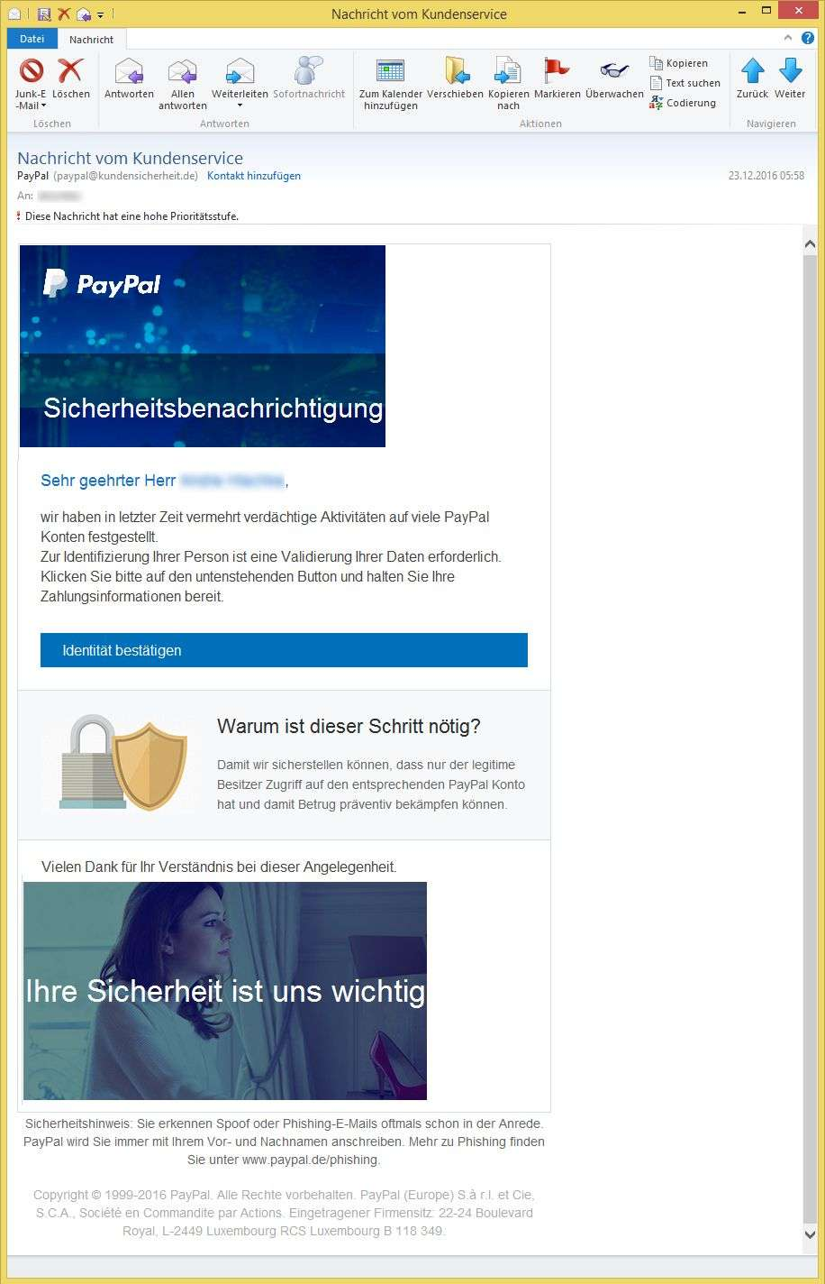 Kundenservice Paypal Deutschland