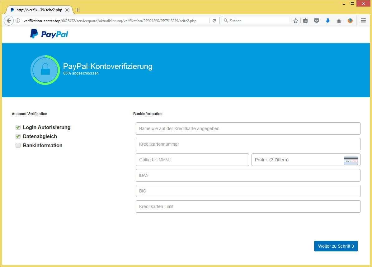paypal benachrichtigung verifizierung