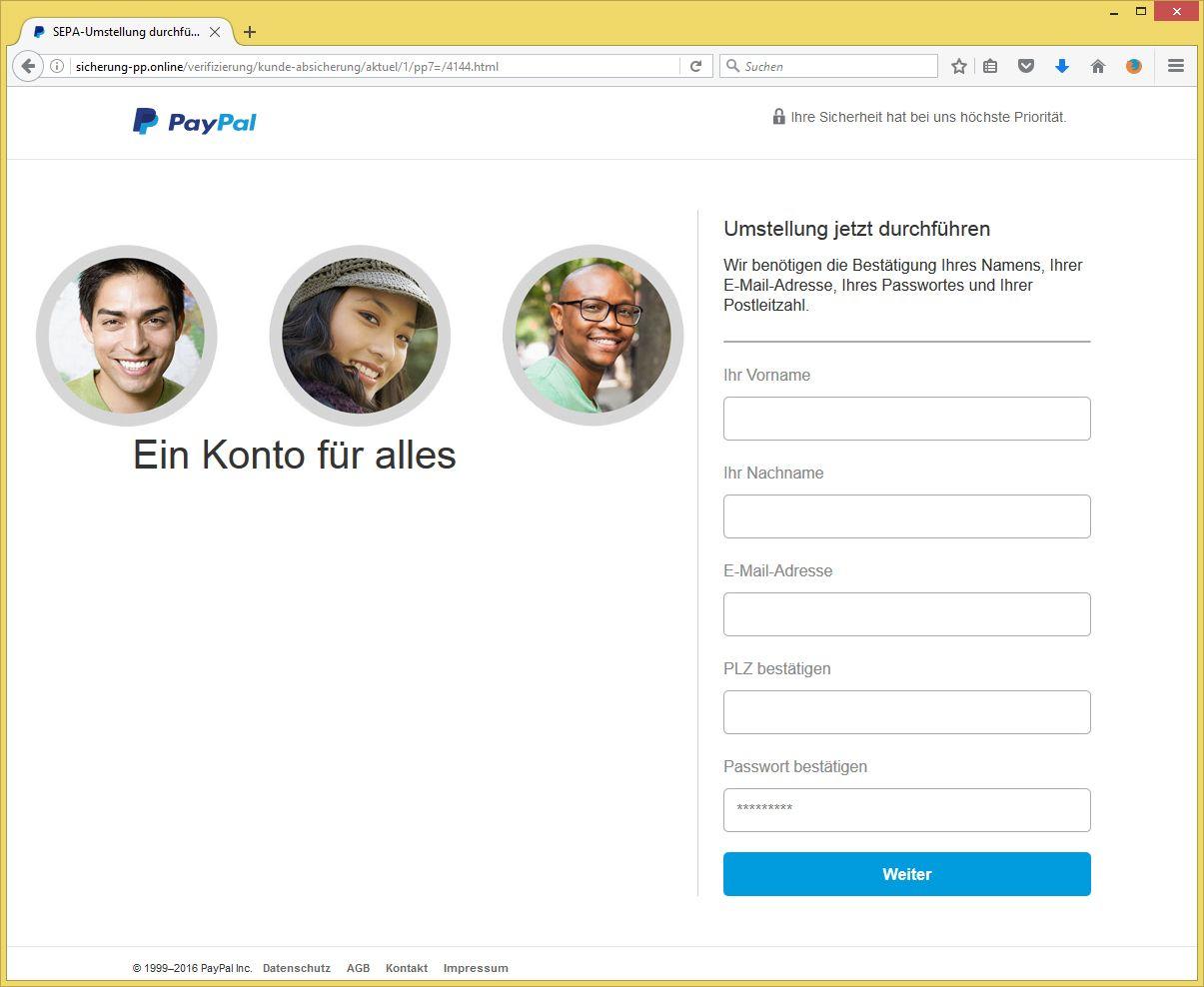 paypal auf deutsch umstellen