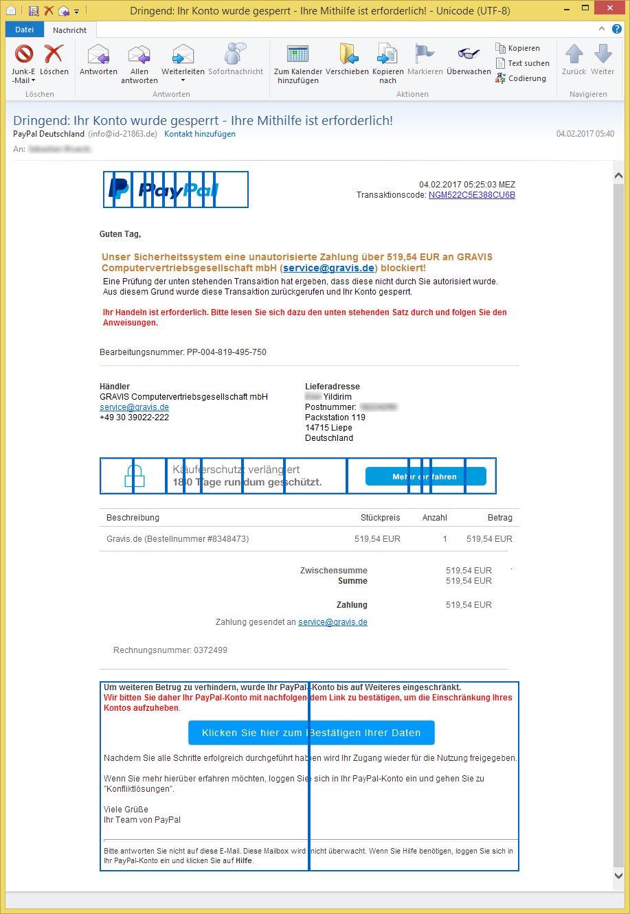 info paypal deutschland