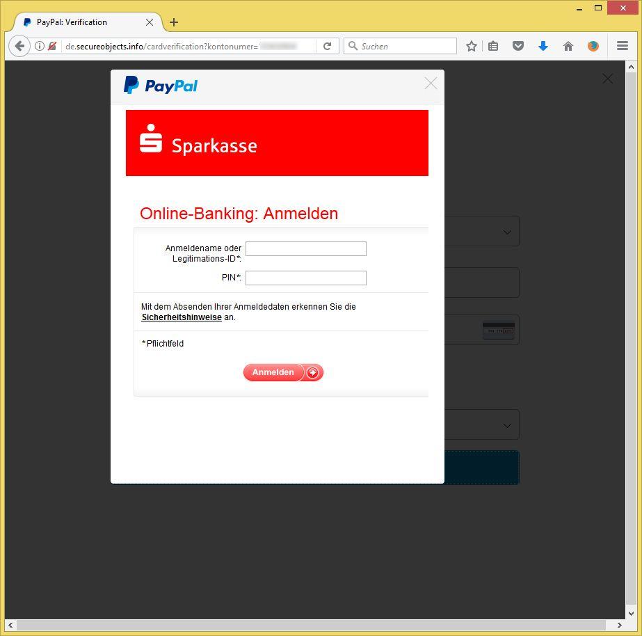 Paypal Wir Bitten Um Eine Erneute Verifizierung