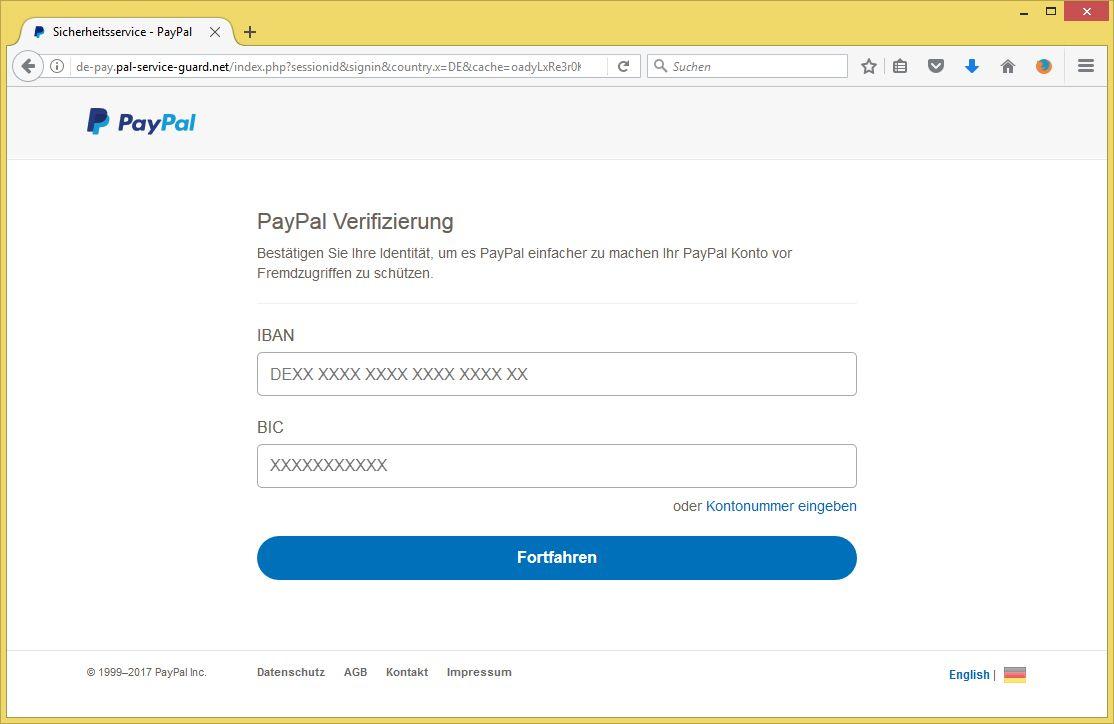 paypal email identität bestätigen