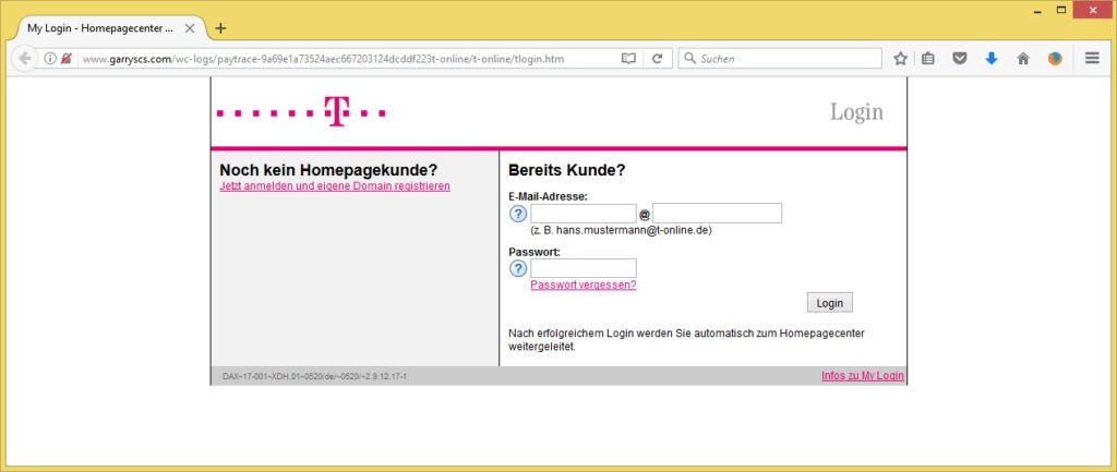 Homepagecenter Login