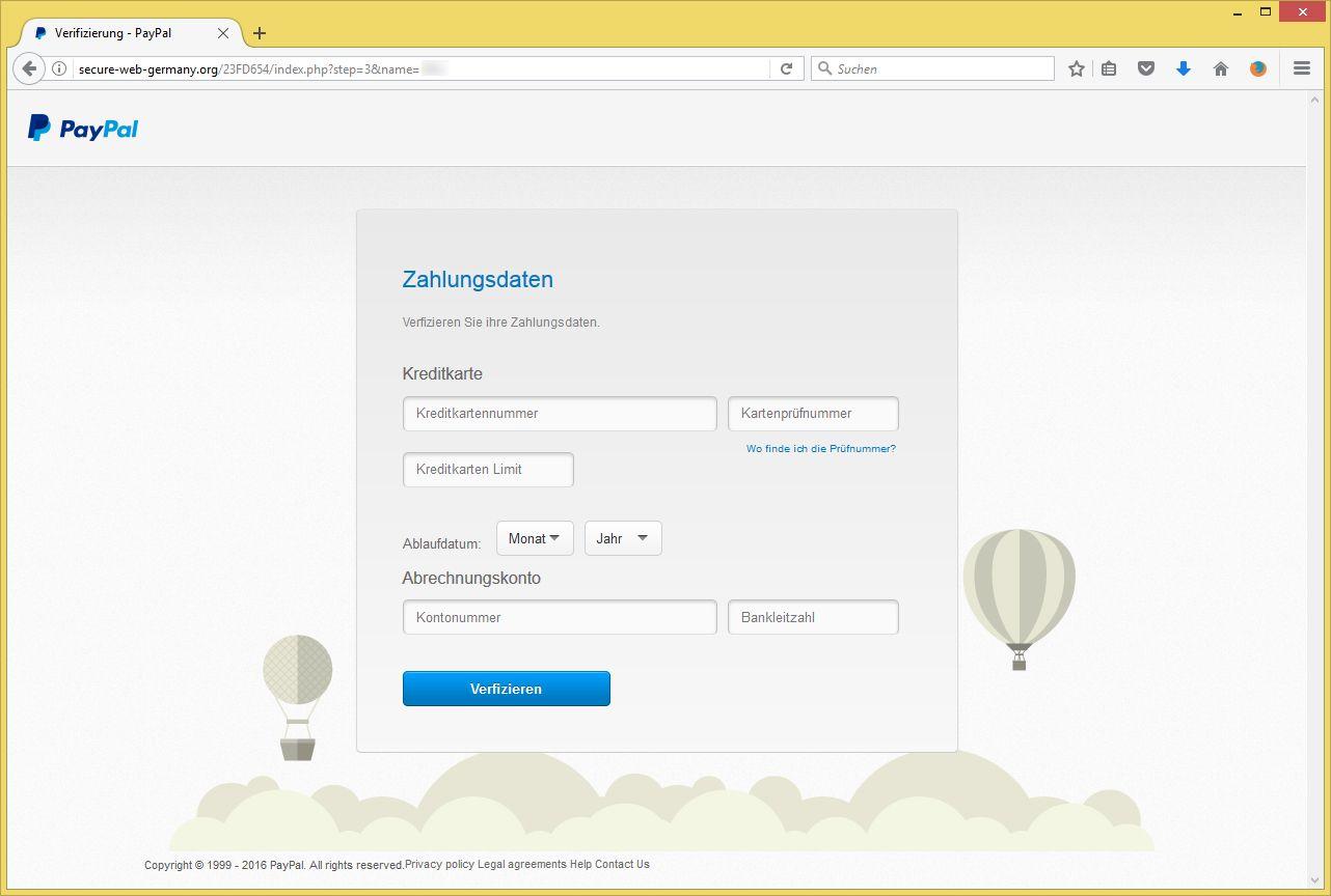 Paypal Deutschland Anschrift