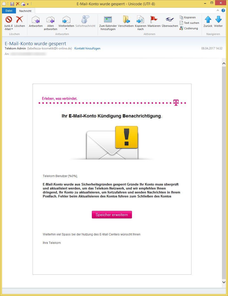 Telekom.De E-Mail