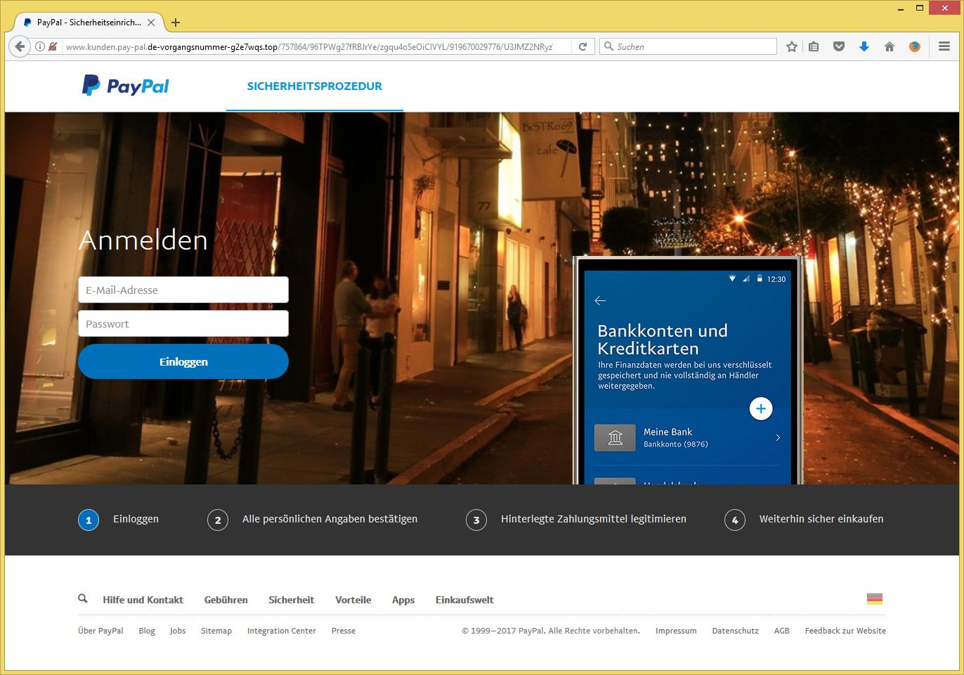 paypal kundenservice email adresse
