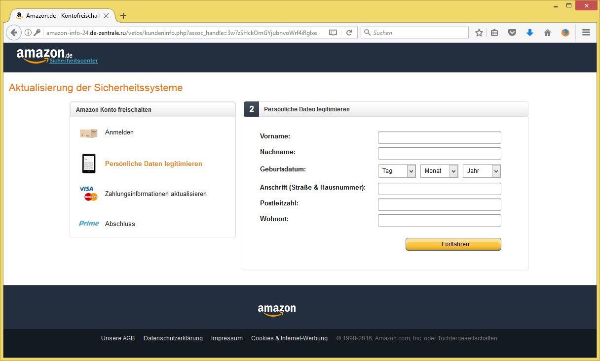 Amazon Nutzerkonto Wurde Gesperrt