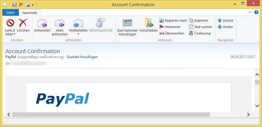 paypal email verifizieren sie ihren account