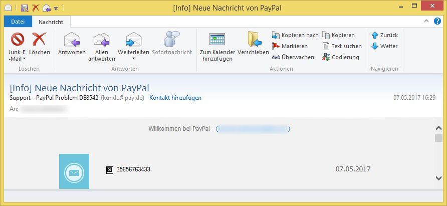 Support Paypal De