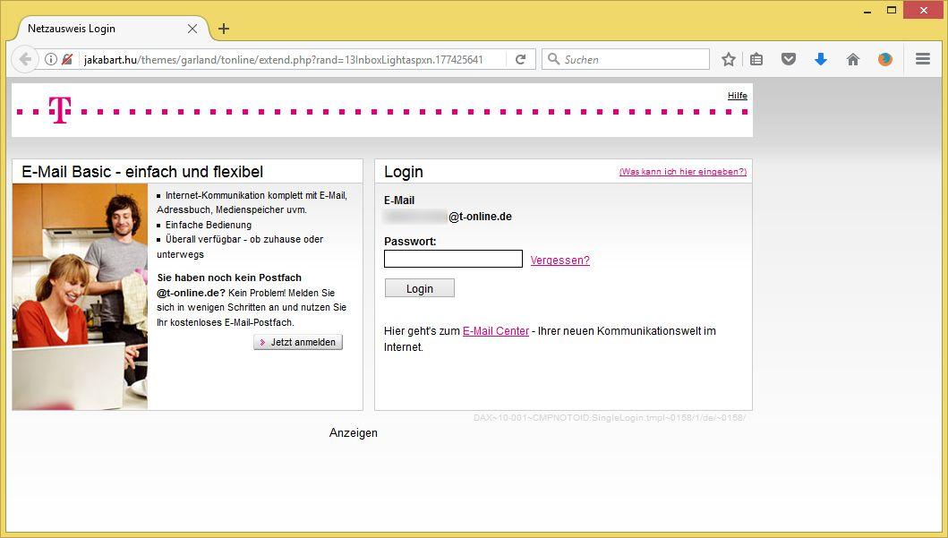 Emailkonto Telekom