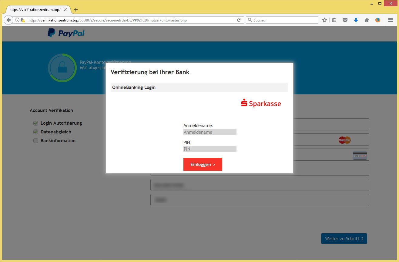 paypal login funktioniert nicht