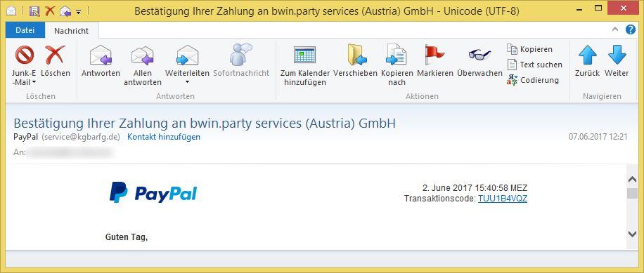 Paypal Austria
