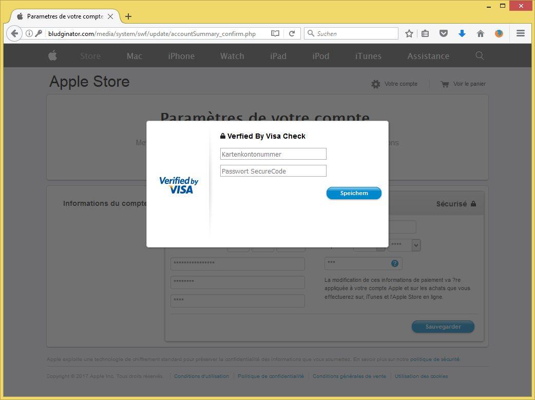 mastercard securecode gesperrt