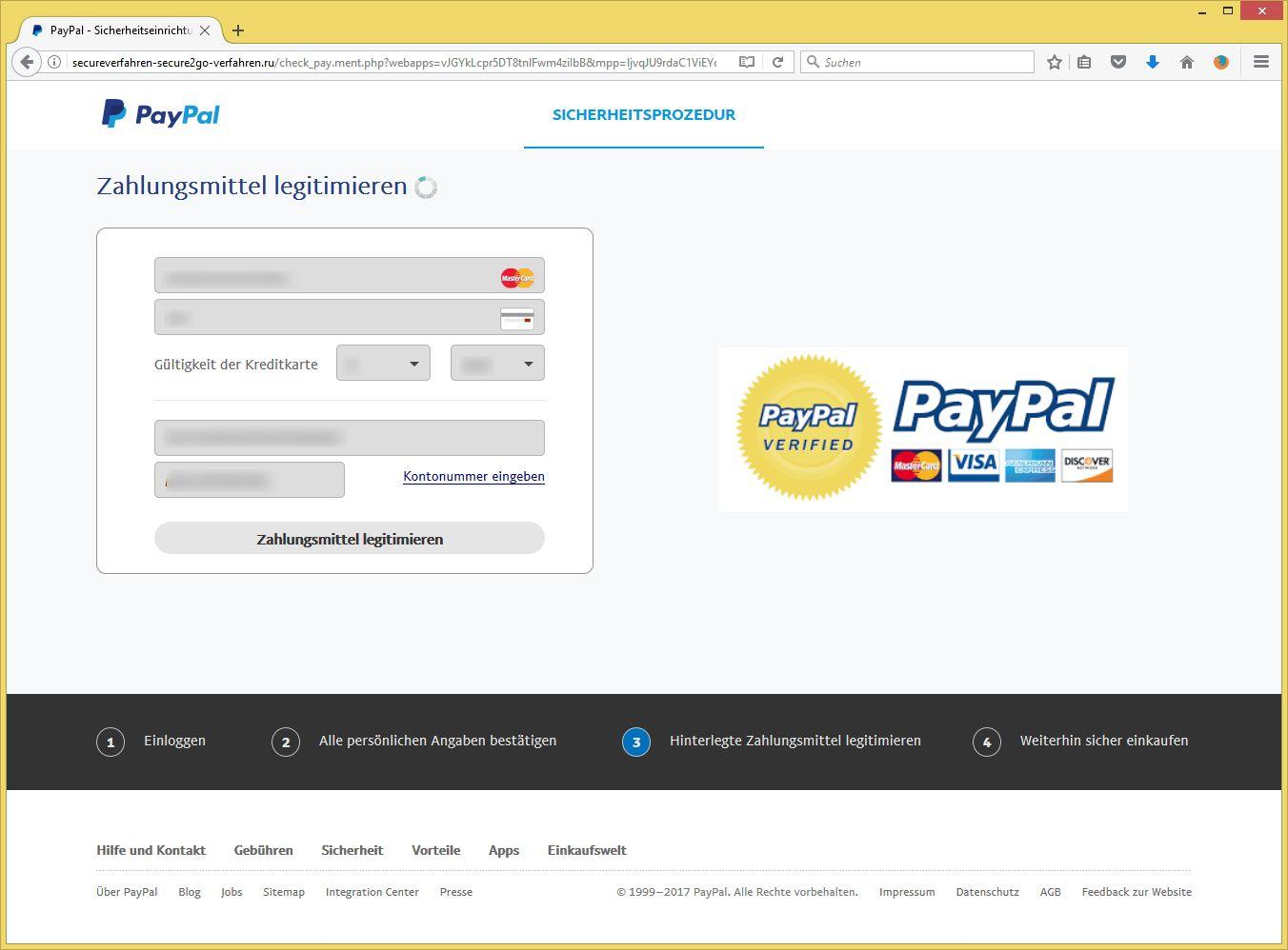 paypal kontos
