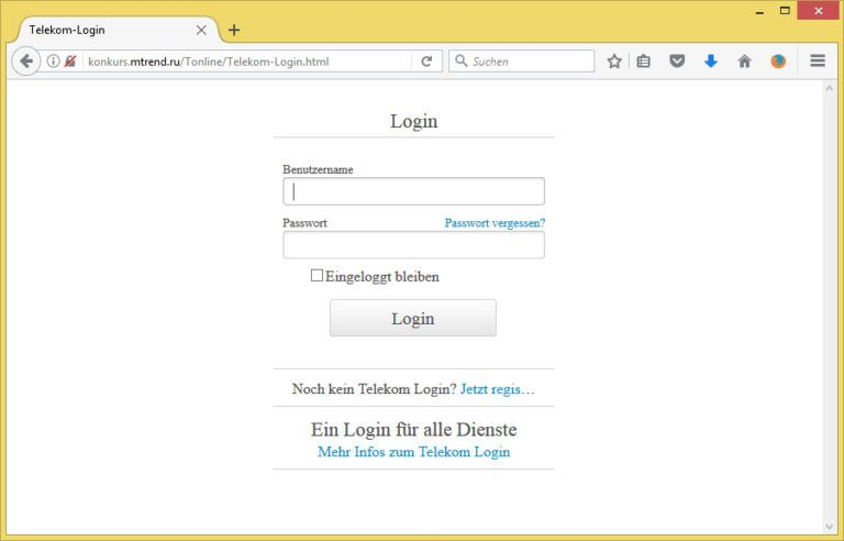 Re-Login von Telekom Email (no-reply@emsvrtelecom.com