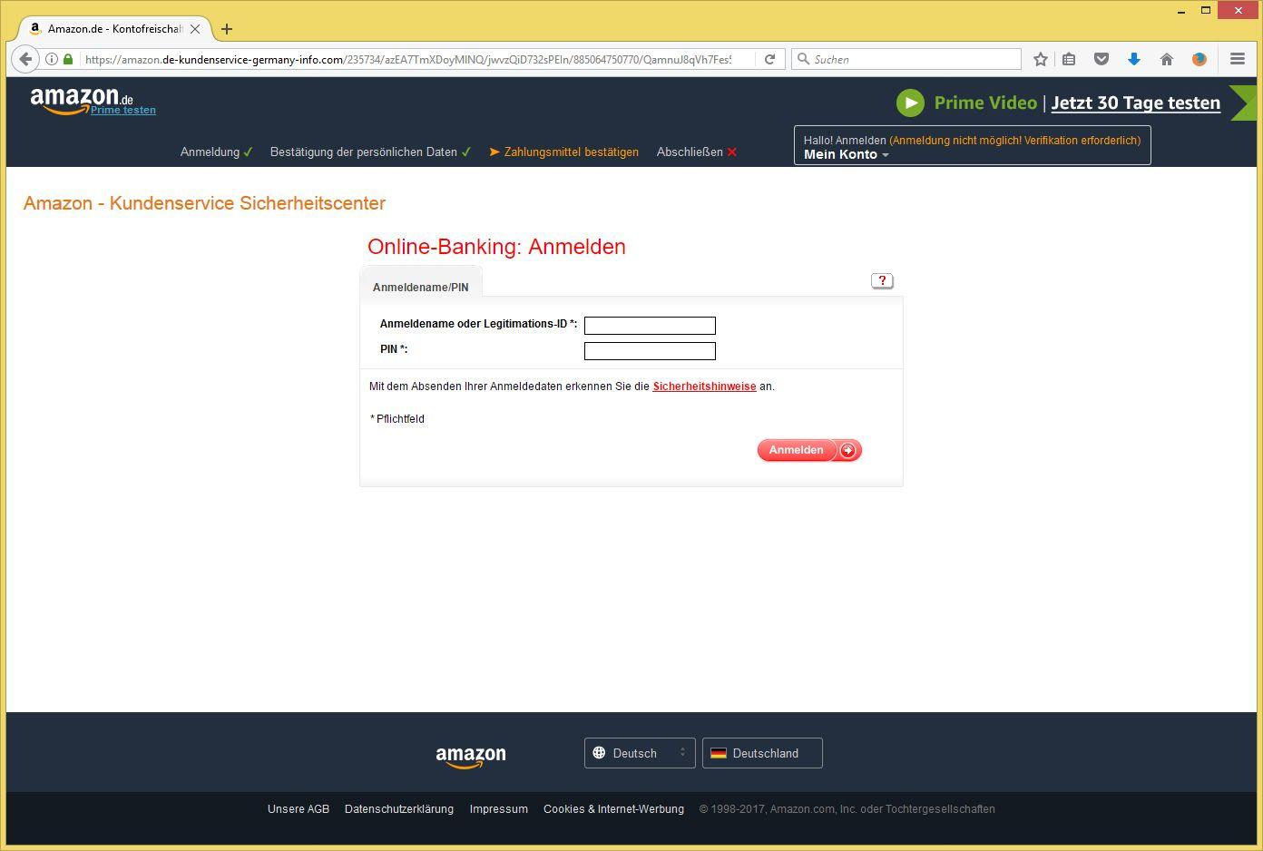 Kundenservice Amazon