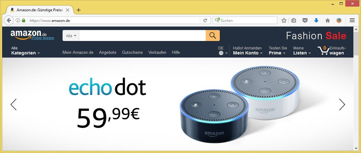 Amazon Kundencenter