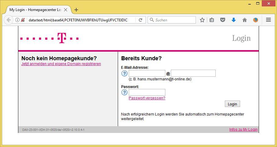 Wichtige Mitteilung Für Empfänger At T Onlinede Von Telekom
