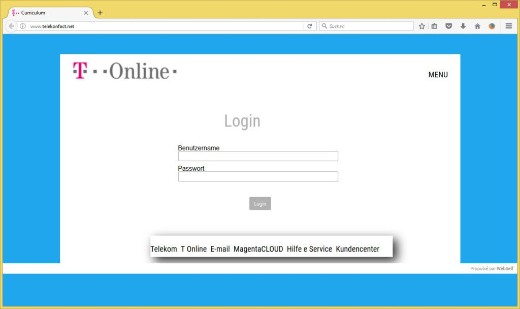 Updates Rechnung von T-online Telekom (smart4m@infomaniak