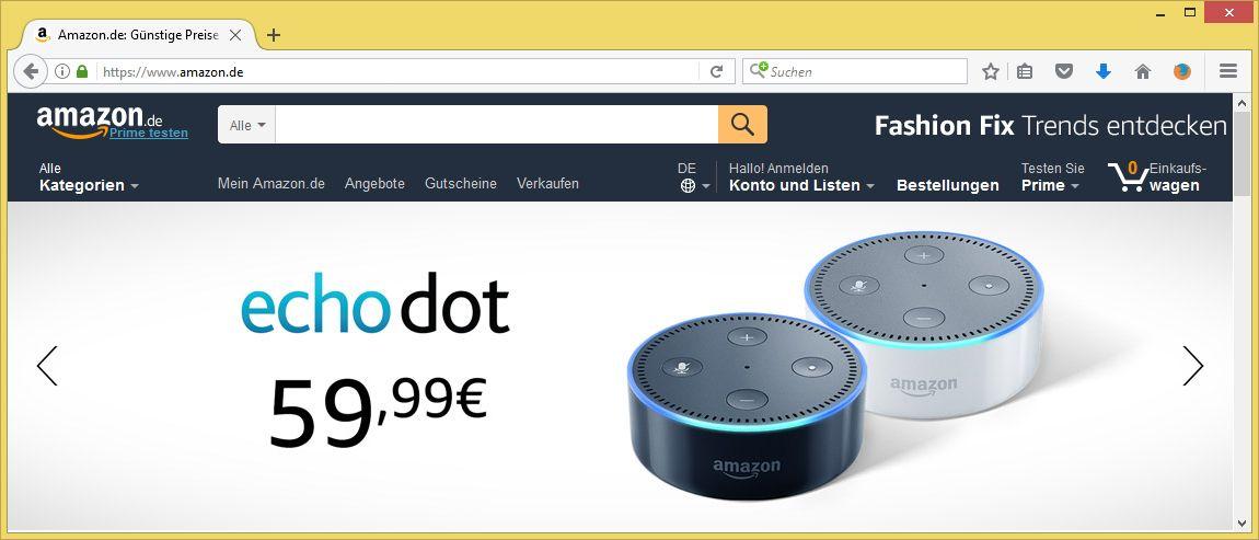 Amazon Konto Sperren