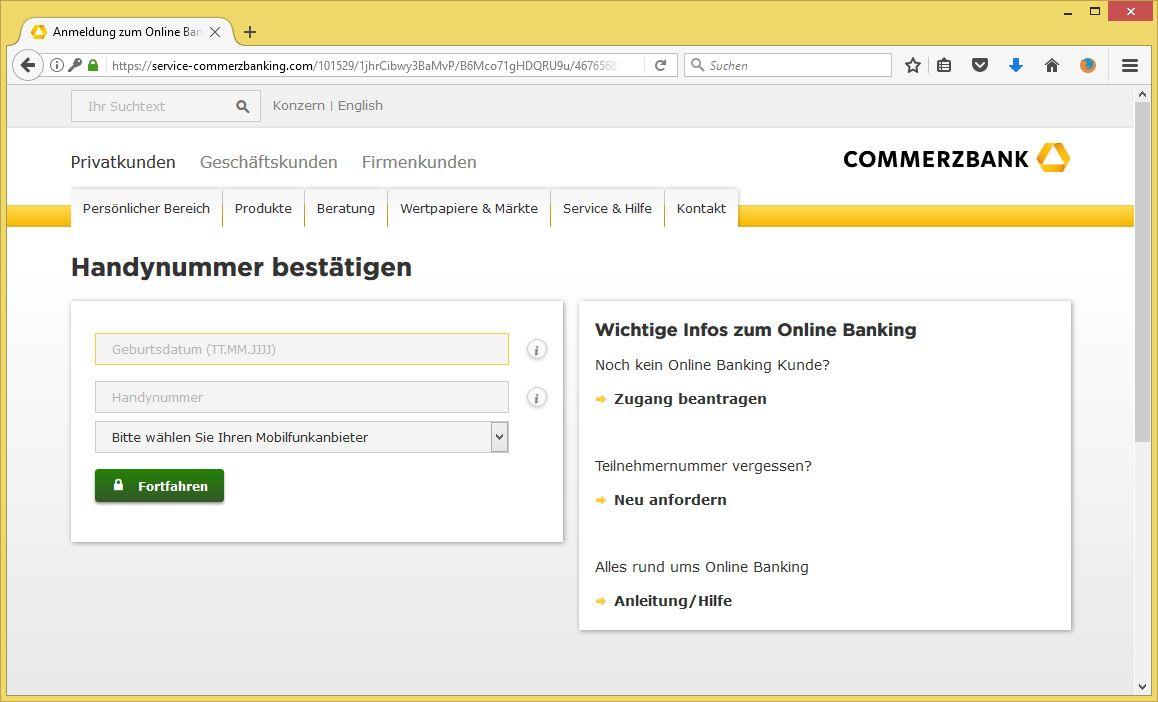 Commerzbank Гјberweisungslimit