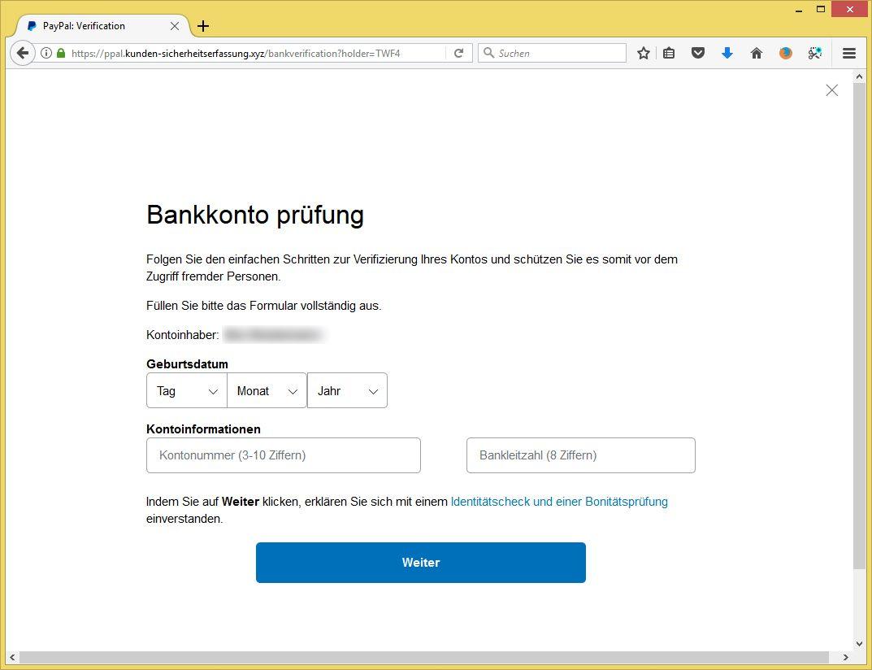 paypal konto temporär eingeschränkt