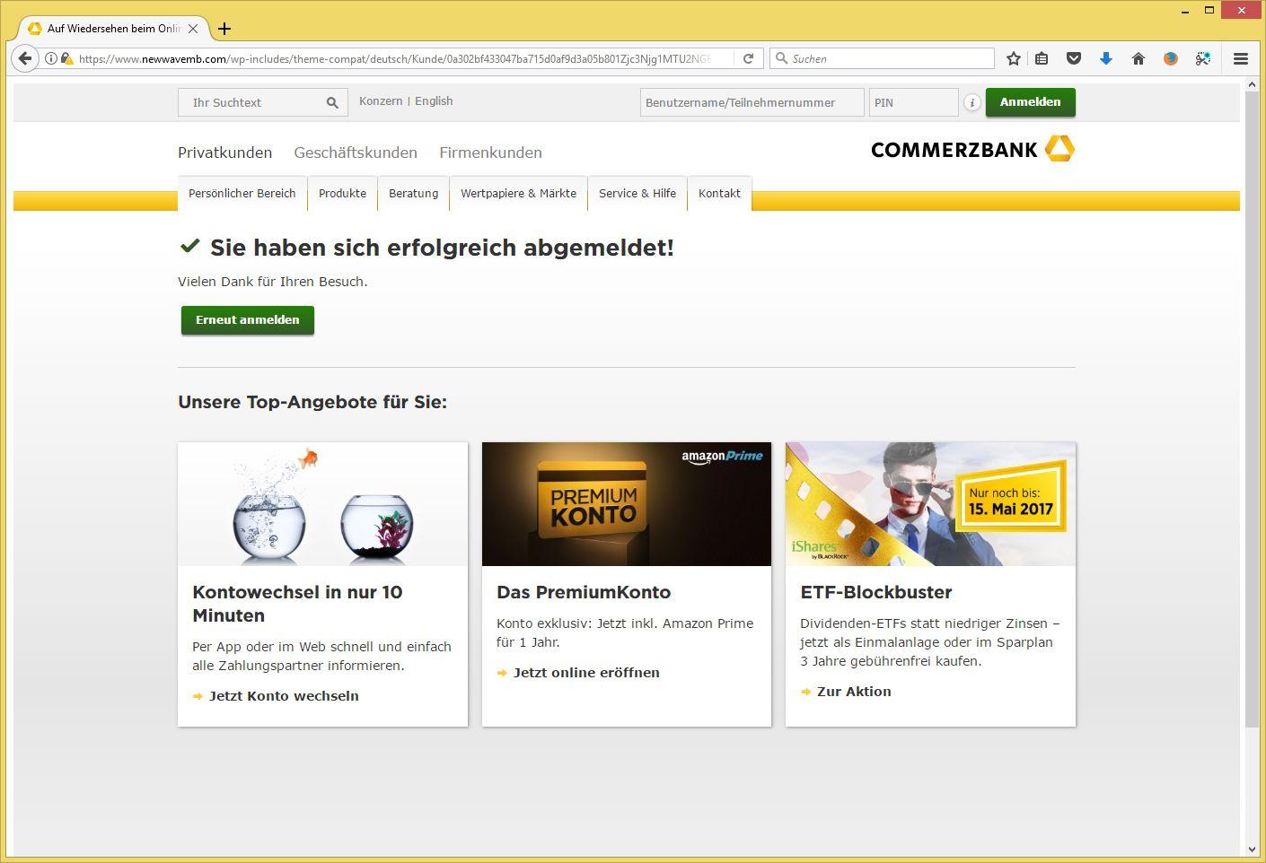 Commerzbank Tel