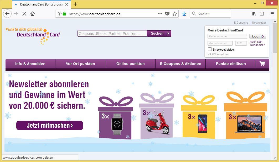 Deutschlandcard 2 Karte Anmelden.Deutschland Jubelt Die Card Wird 10 Jahre Wir Verdoppeln Deinen