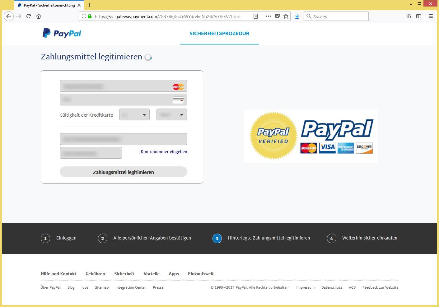 Paypal Sicher Einloggen