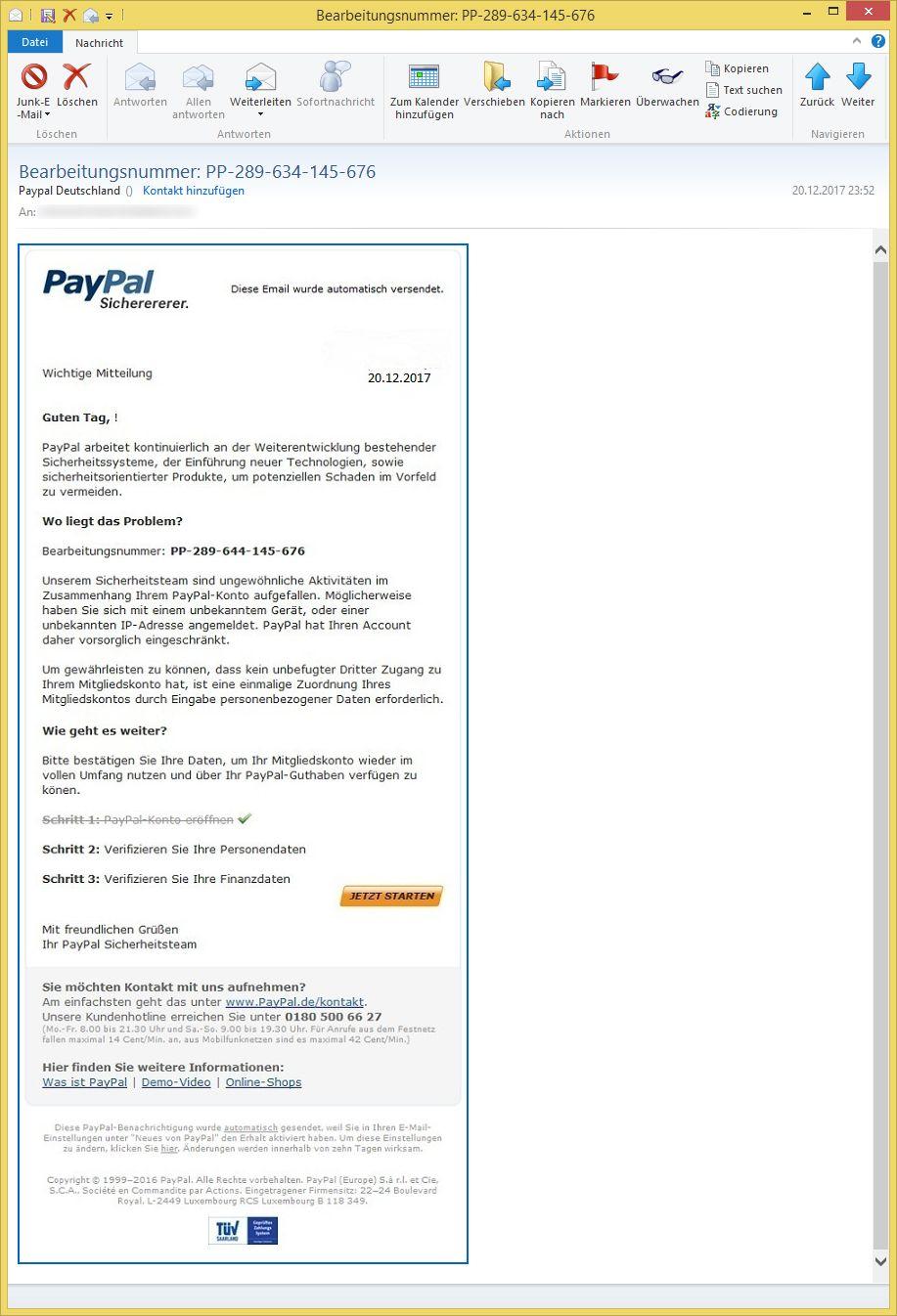 Pay Pal Deutschland