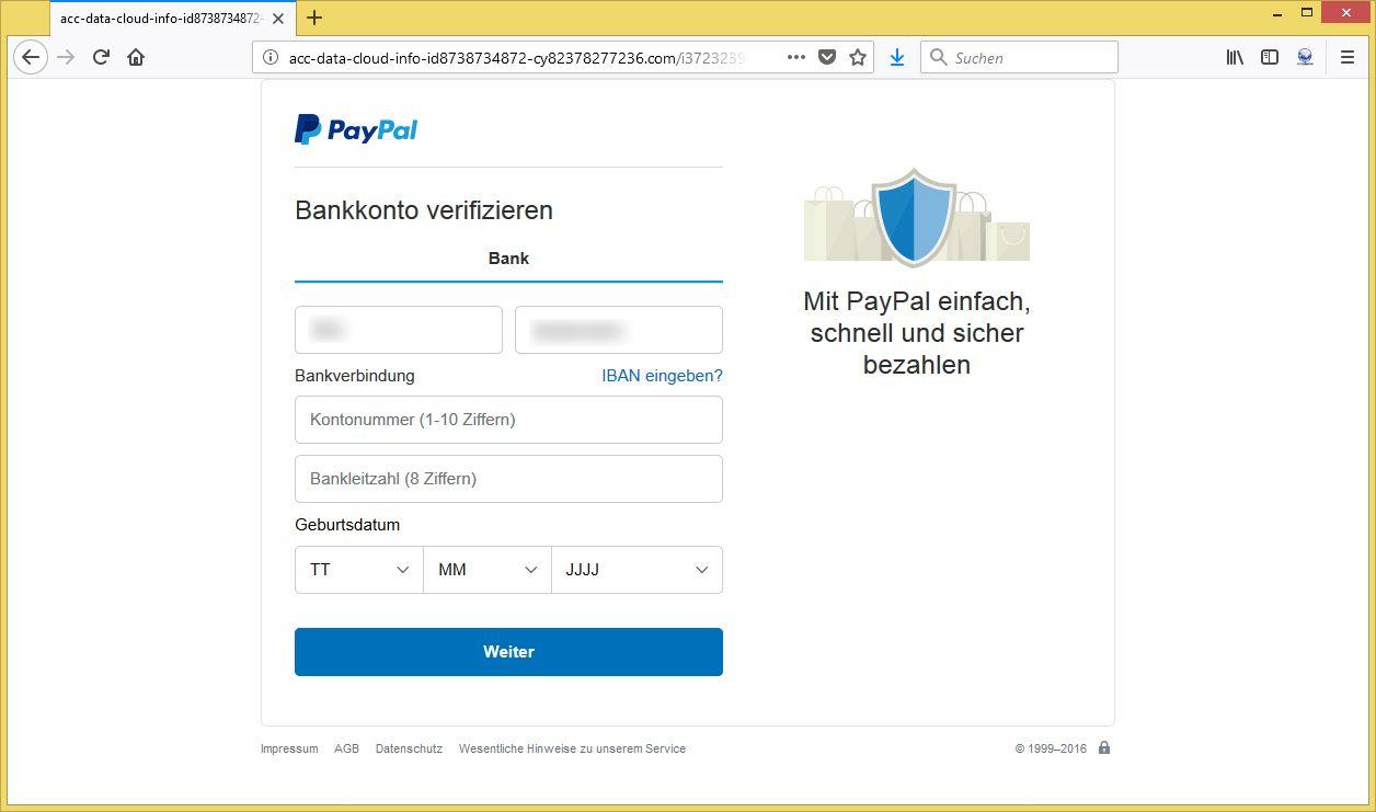 Paypal Neu Verifizieren