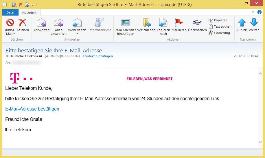 Bitte Bestätigen Sie Ihre E Mail Adresse