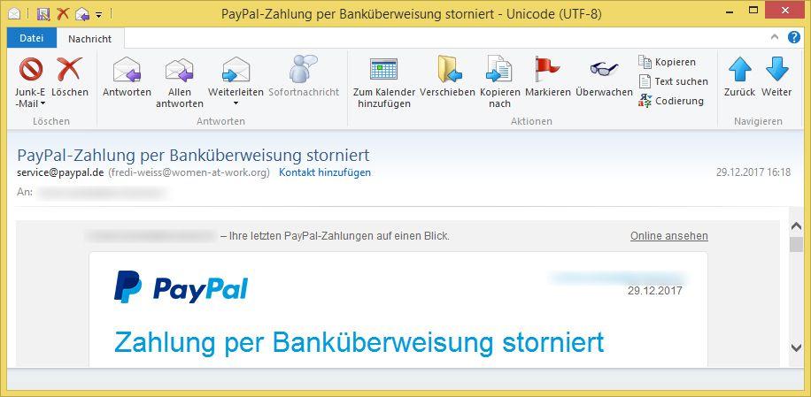 Paypal BankГјberweisung