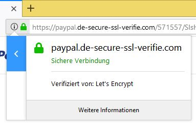 paypal phishing ihr paypal konto wurde eingeschr nkt von payp l info paypal. Black Bedroom Furniture Sets. Home Design Ideas