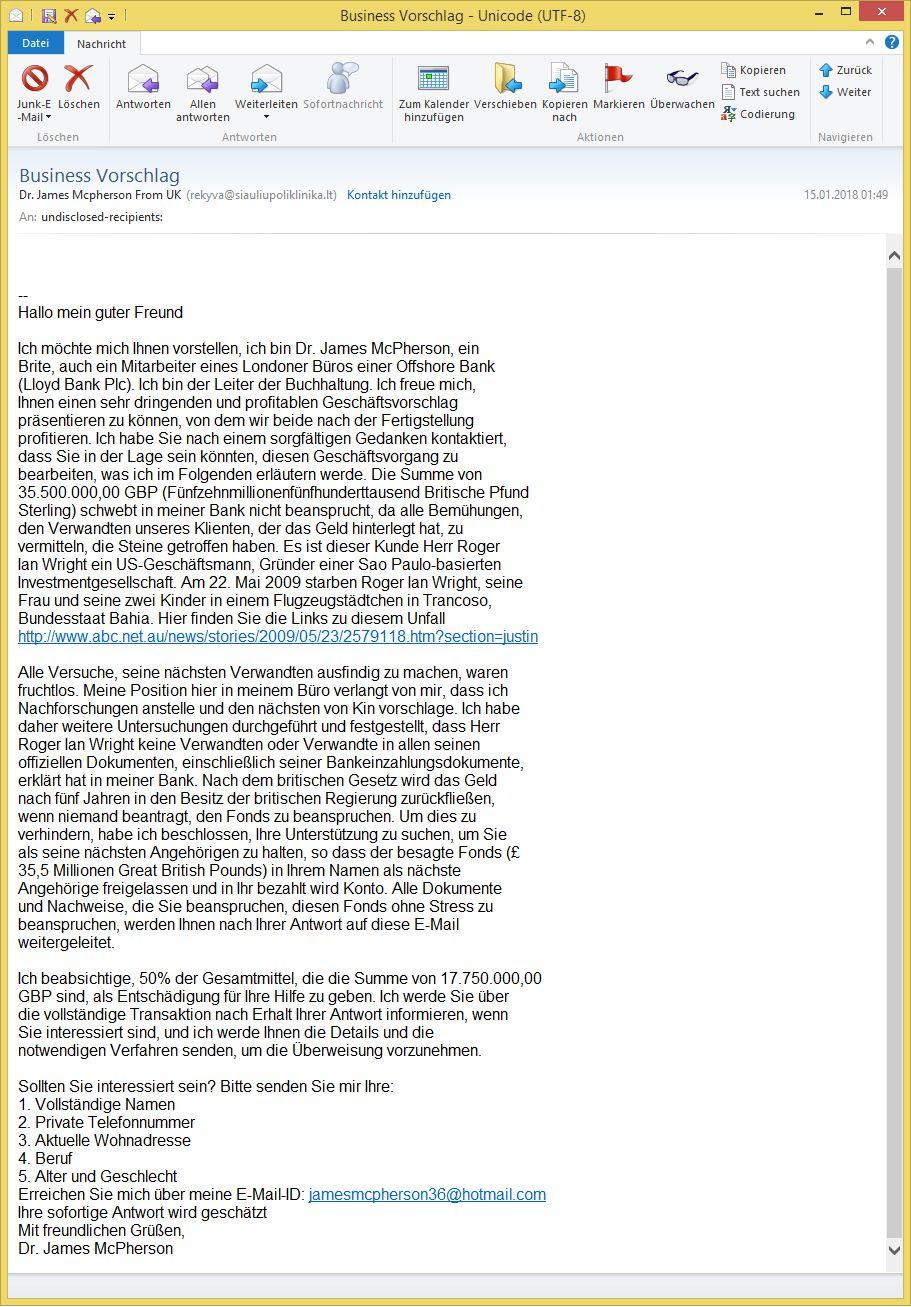 Erfreut Lebenslauf Weiterleiten E Mail Senden Galerie - Entry Level ...
