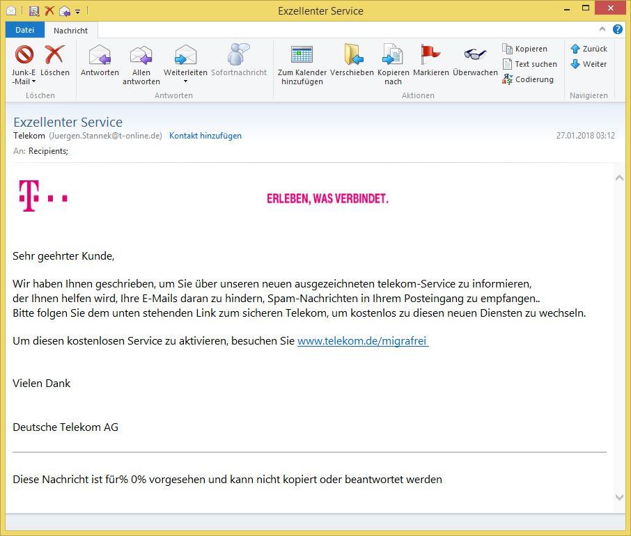 Telekom Email Service