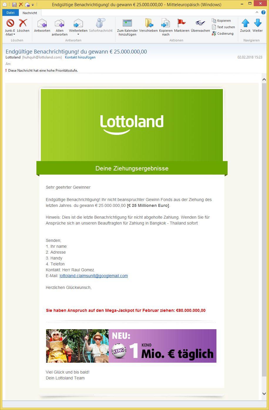 Lottoland Kontakt