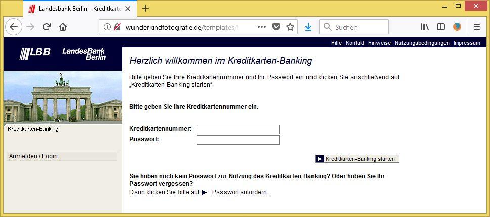 Melden Sie Sich Fur Die 3 D Secure Von Landesbank Berlin Ag Nno Repueco0egiesprit Du Nil Online De Ist Phishing Vorsicht E Mail