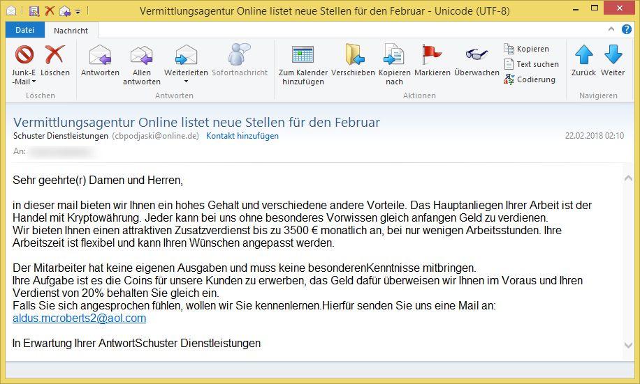 Online Vermittlungsagentur