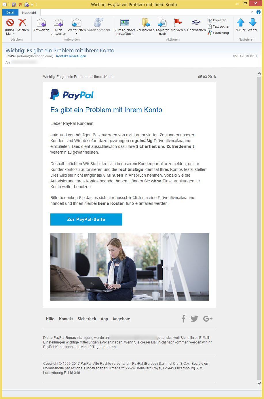 2 paypal konten mit einem bankkonto