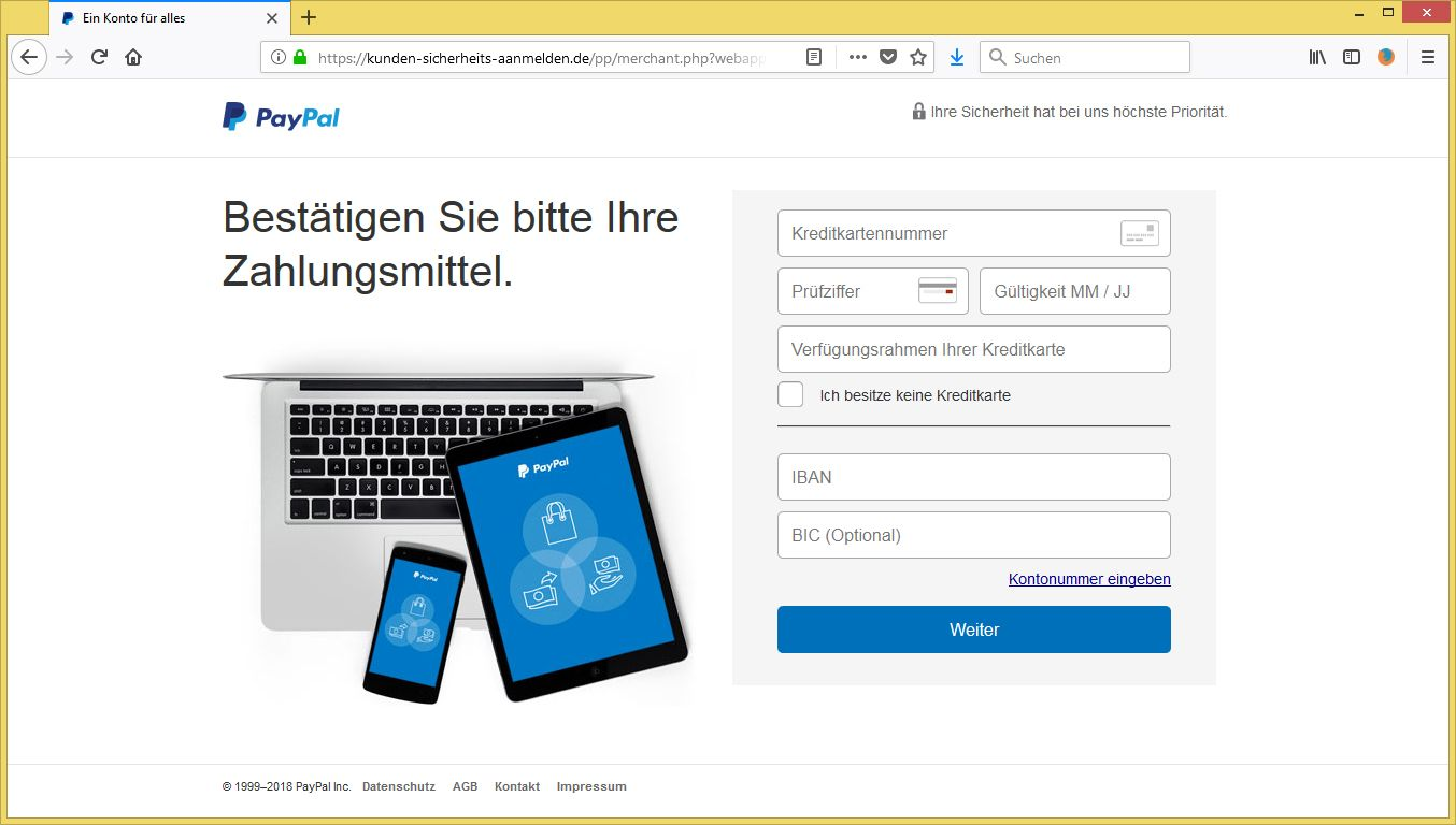 paypal referenznummer