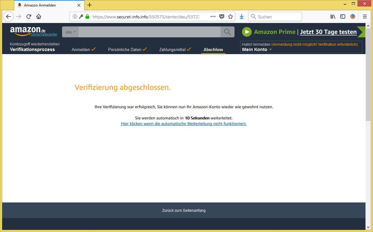 Sie können Ihr blockiertes Konto am schnellsten entsperren, indem Sie online einen Code anfordern, den Sie anschließend eingeben. Wenn Sie noch nicht versucht haben, Ihr Konto online zu entsperren, sollten Sie mit diesen Schritten beginnen.