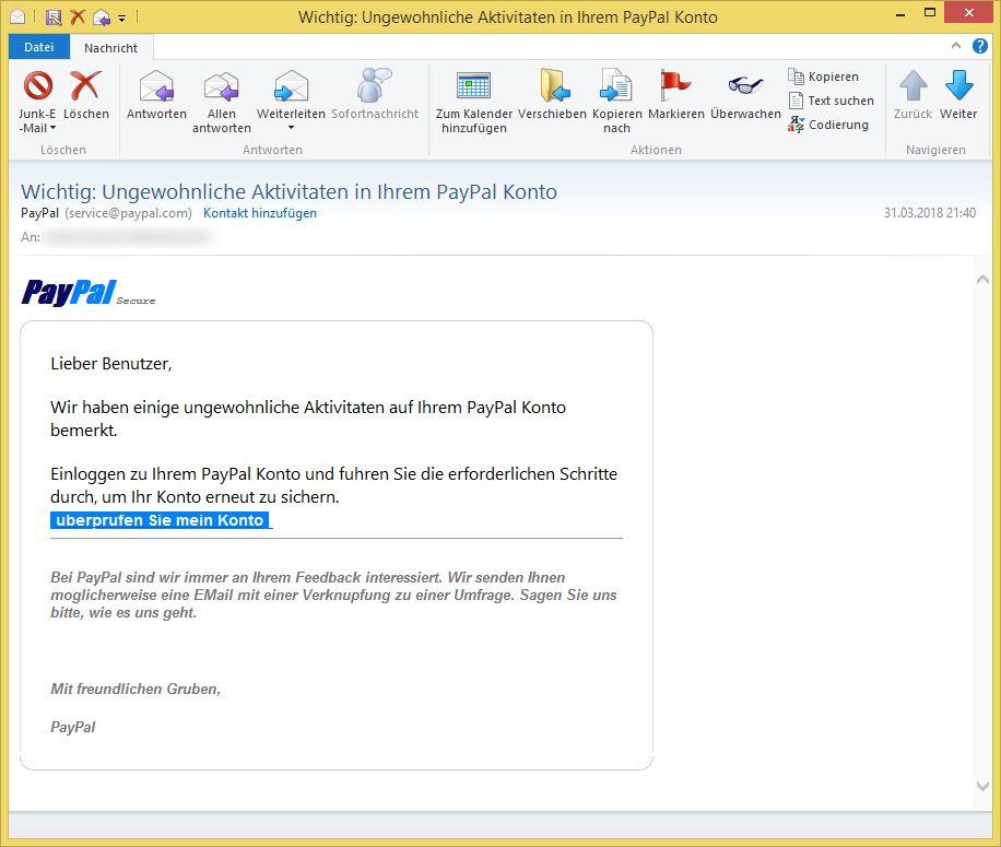 Paypal Email Bestätigen Geht Nicht