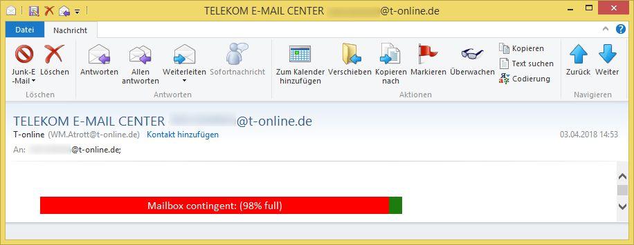 telekom e mail center empf nger t von t online wm atrott t ist phishing. Black Bedroom Furniture Sets. Home Design Ideas