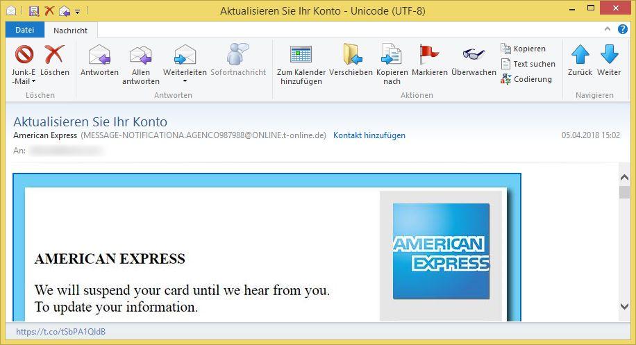 American ExpreГџ.De/Konto-Online