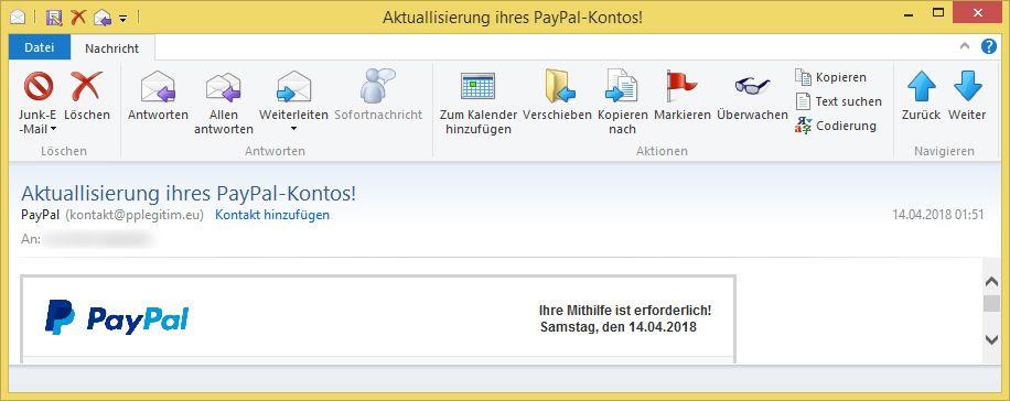 Paypal Konto überprüfen