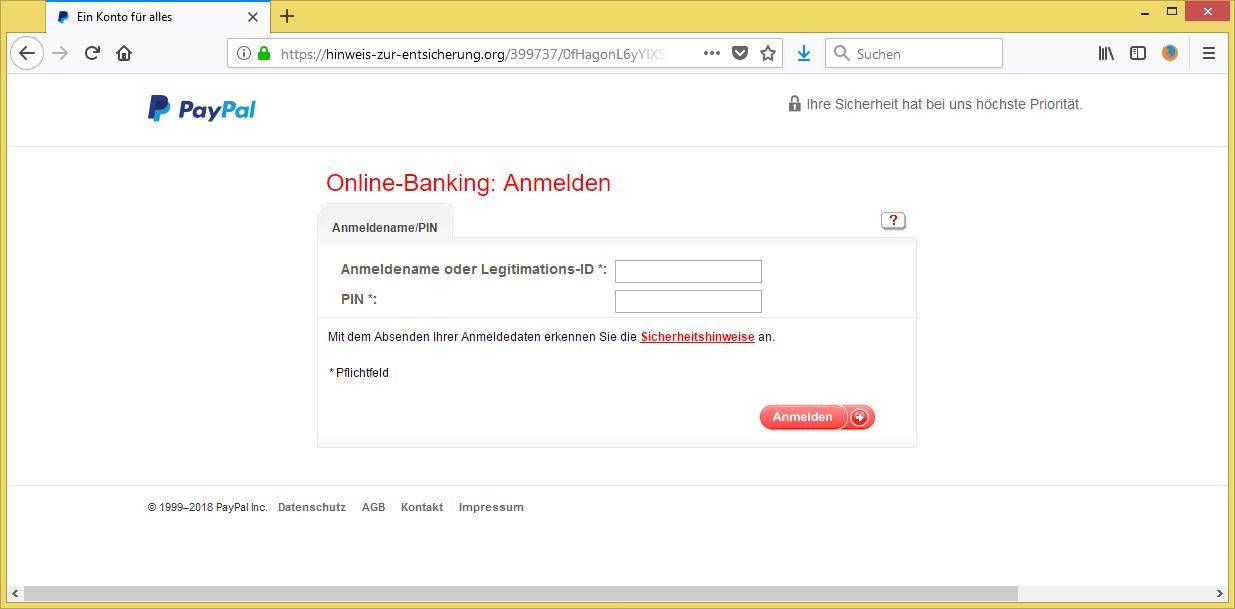 paypal konto vorübergehend eingeschränkt
